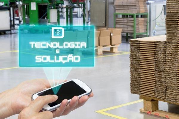 Tecnologia criada pela empresa Dinâmica Inventários para realização de Inventários