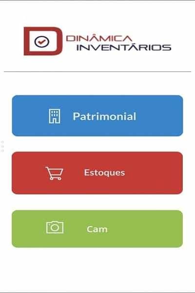 App da Dinâmica Inventários